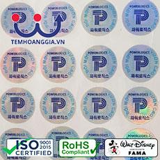 In Tem Niêm Phong – Seal label – Tem chống giả